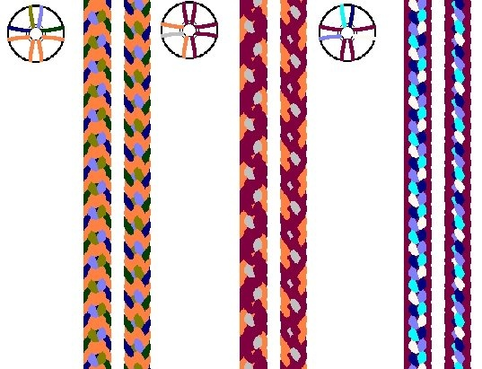 8 strand kumihimo instructions