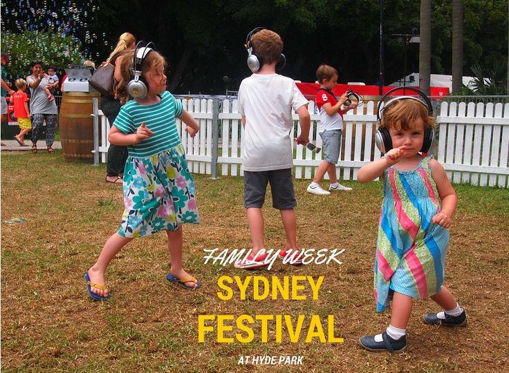 Family Week at Sydney Festival 2016