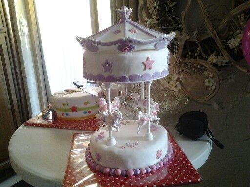 Carrousel taart.