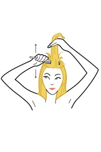 How to Create a Poof Ponytail