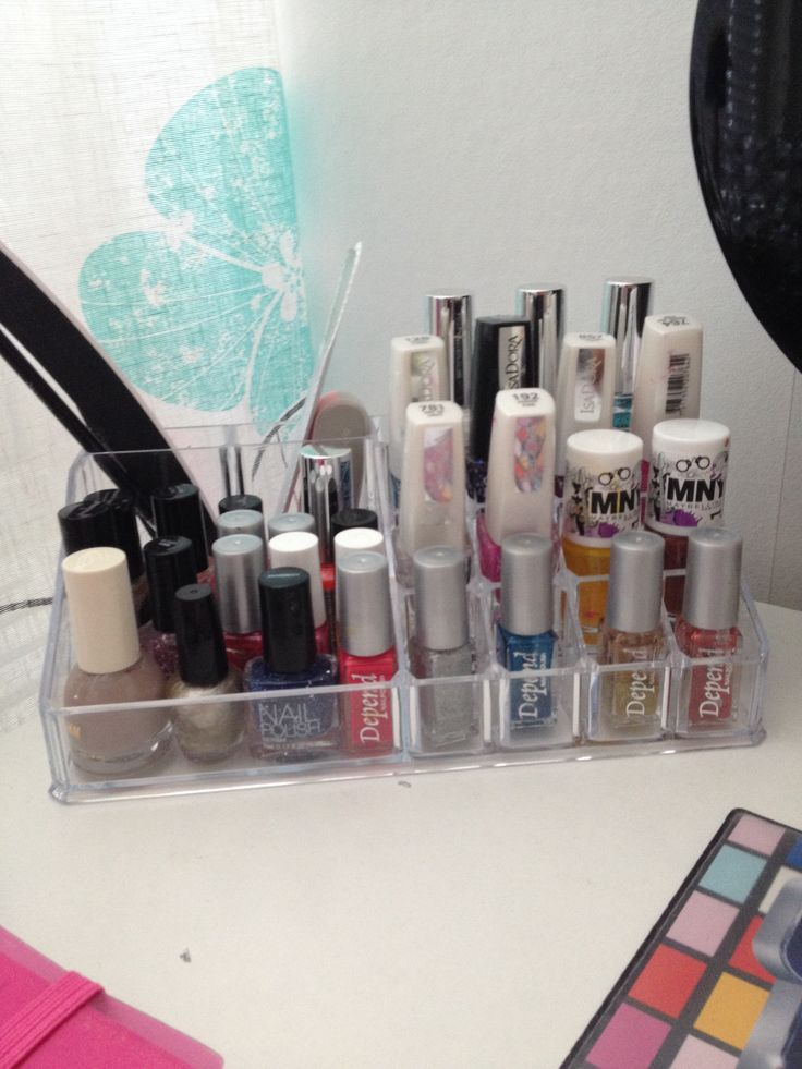 bra tipps till förvaring till nagellack