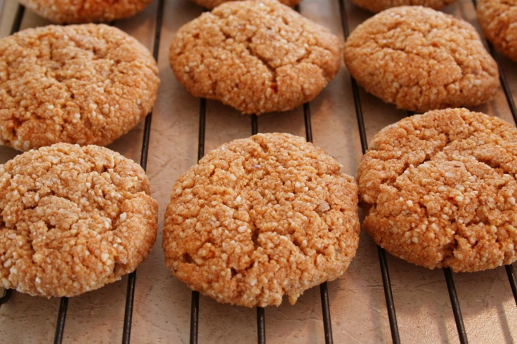 """The Healthy Happy Wife: Cinnamon Almond Cookies or """"Snickerdoodle"""" (Dairy, Gluten/Grain and Refined Sugar Free)"""