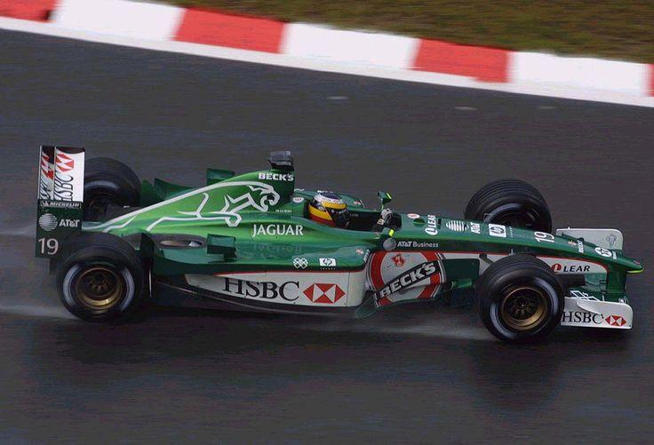 2001 Spa-Francorchamps HSBC Jaguar R2 Pedro de la Rosa