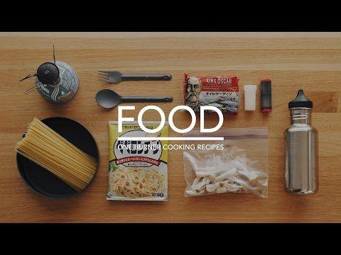 #39 ワンバーナークッキング / パスタ,オイルサーディンのペペロンチーノ,フライパン簡単料理 / 山めし,山ごはん,アウトドア,レシピ,作り方 - YouTube