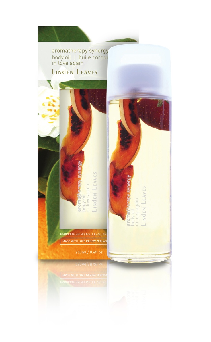 Linden Leaves In Love Again Body Oil from the Aromatherapy Synergy range - for naturally beautiful, youthful looking skin. www.lindenleaves.com