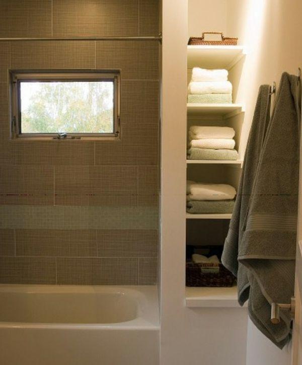 Le rangement de salle de bains design and murals - Rangement mural salle de bain ...