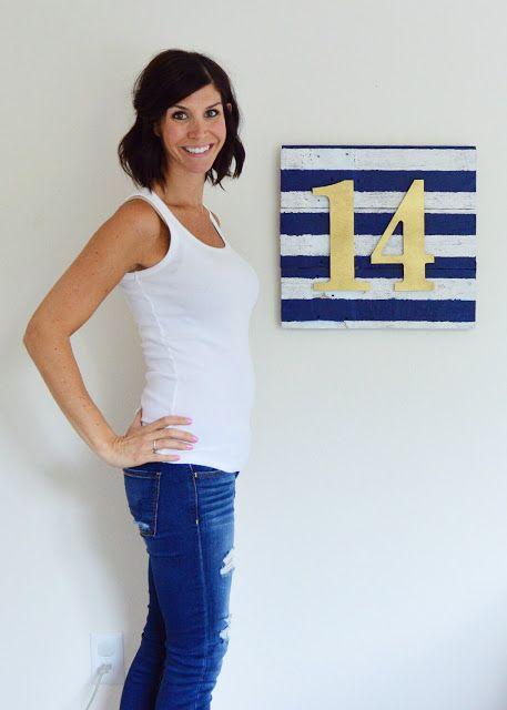 14 week bump. Pregnancy Tracker. Baby S #2.