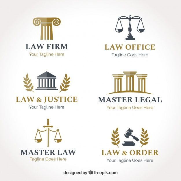 Download Law Logotype Set For Free Tarjetas De Presentacion