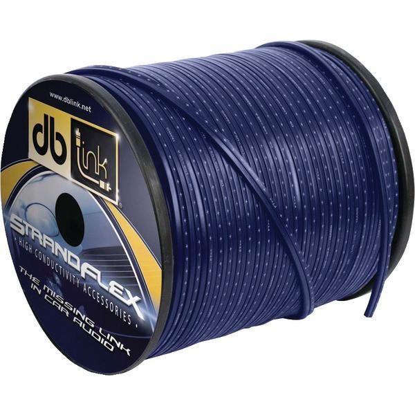 DB Link SFSW12BL250Z Strandflex Blue Speaker Wire (12 Gauge, 250ft)