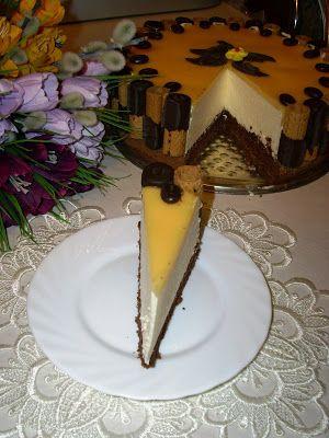 W mojej kuchni: Tort ajerkoniakowy wg Aleex