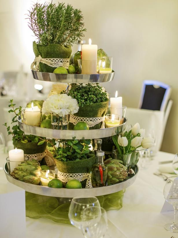 27 Fl Alternatives For Your Wedding Centerpieces 2 Pinterest Decor Tray And