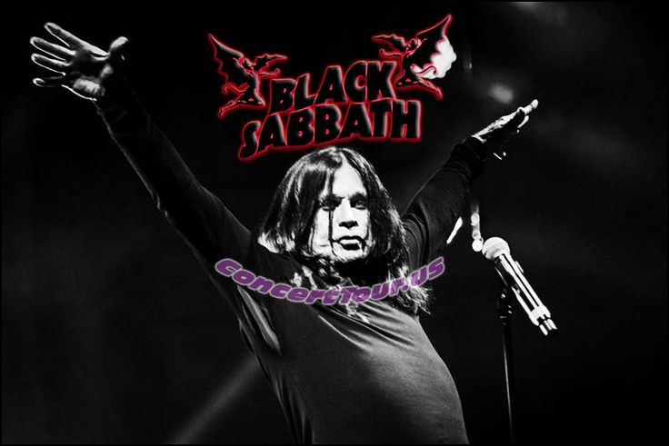 www.ConcertTour.us - BLACK SABBATH Tickets Have Gone On Sale For THE END TOUR! Hurry, get your tickets now!