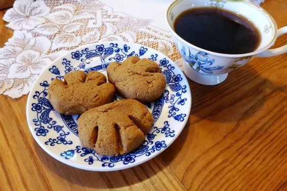 Bons biscuits patte d'ours :) Version végane!