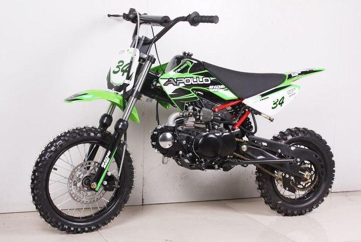 Apollo / Orion Deluxe 110cc Dirt / Pit Bike - Semi-Automatic -