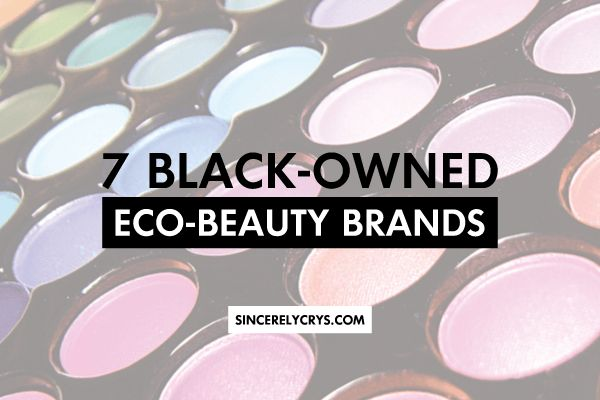 I have spent the last few months trying out and buying products from eco-beauty brands.