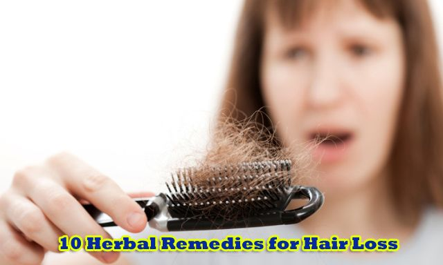 10 Herbal Remedies for Hair Loss