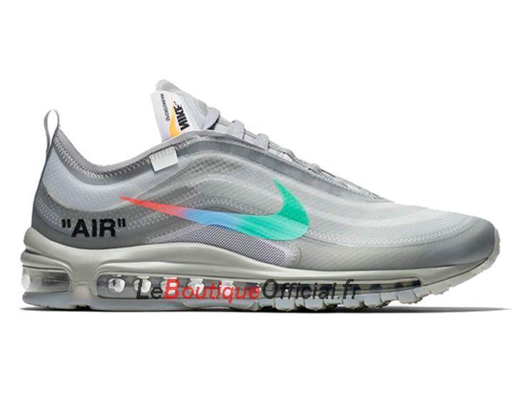 Off White Nike Air Max 97 Menta AJ4585 101 Chaussure Nike