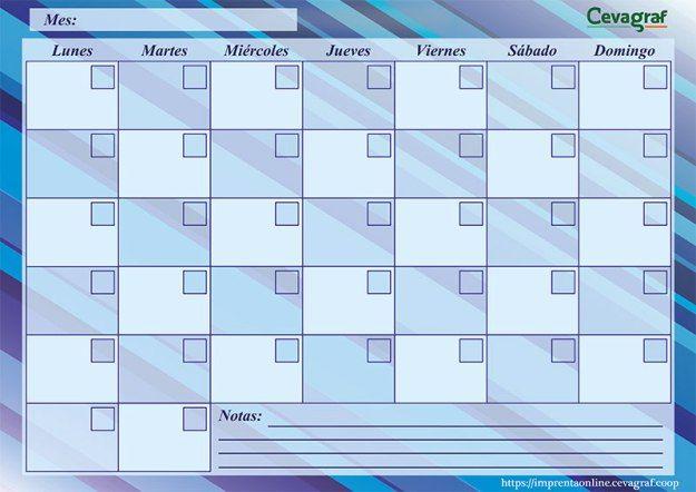 M s de 1000 ideas sobre planificador mensual en pinterest - Planificador armarios ...