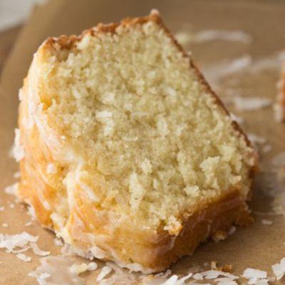 Coconut Pound Cake | foodvee