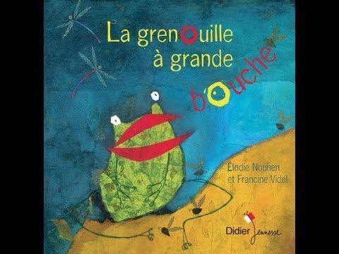 La grenouille à grande bouche, racontée par Francine Vidal    s'en va,  pourrais