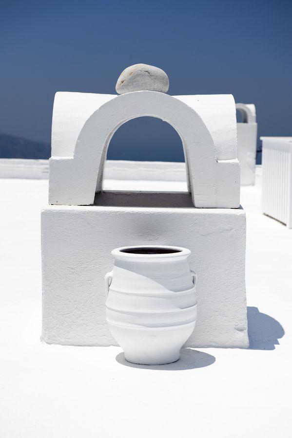 White Chimney & Urn, Santorini