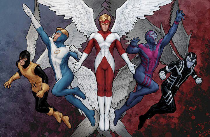 Angel x men angel pinterest