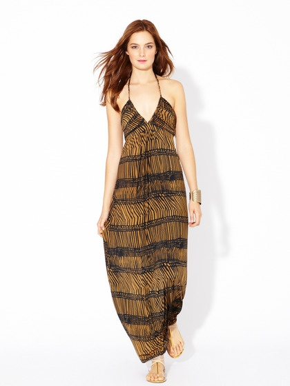Another Great Honeymoon Dress Very In Theme For South Africa Don T You Think Bags Jersey Knit Braided Maxi
