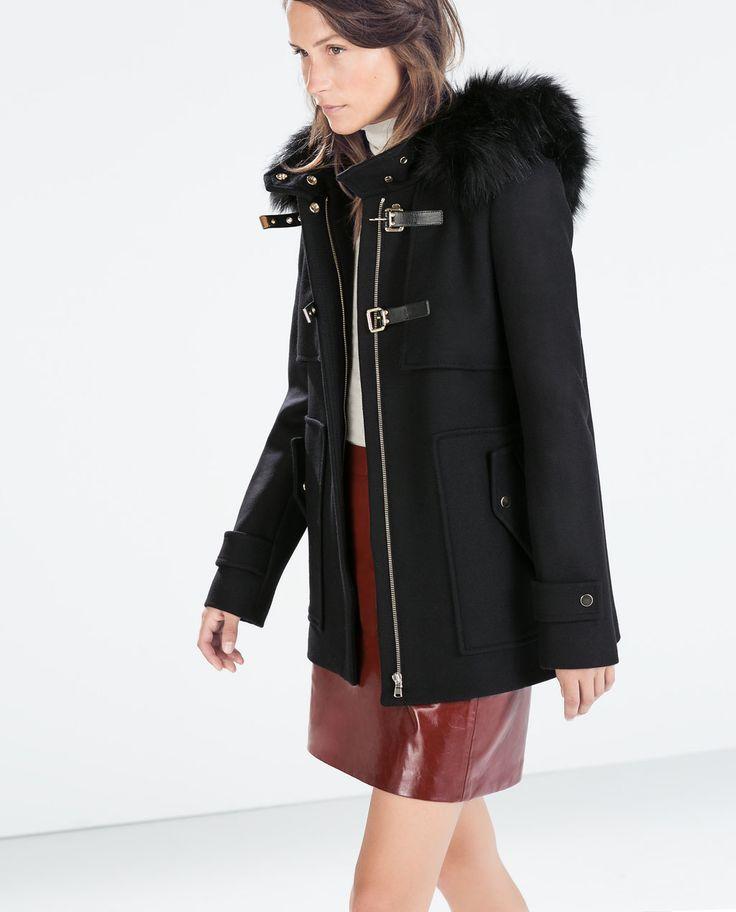 91 best 5. Coats & jackets images on Pinterest | Duffle coat, Faux ...
