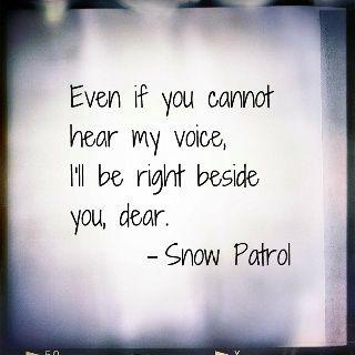 Snow Patrol #lyrics