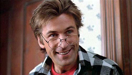 Alec Baldwin in Beetlejuice. ONLY in Beetlejuice. Okay, nevermind. Maybe 30 Rock, too. Yep.