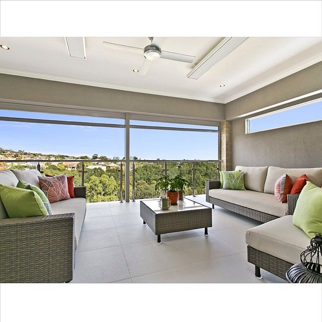 Balcony with a view - Custom Build by Serenity homes #balcony #outdoor #view #design #lookbook #serenityhomes
