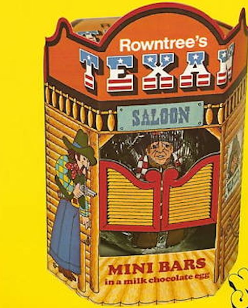 Rowntree S Texan Bar Easter Egg 70s Amp Vintage Sweet