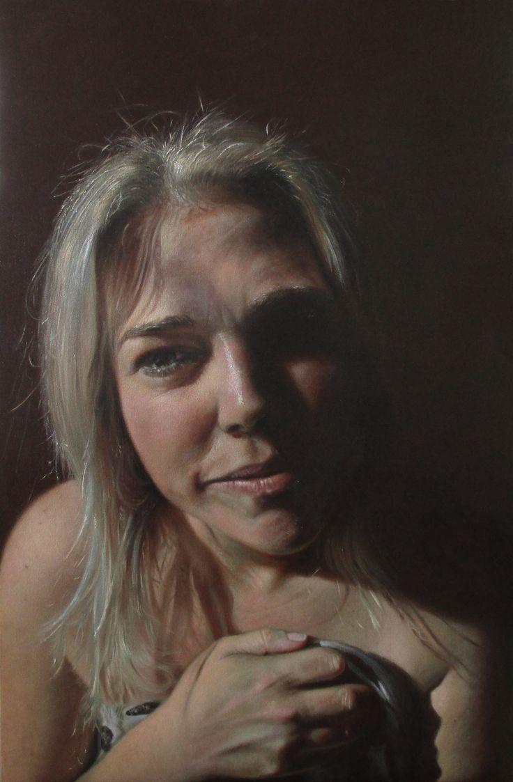 'Real Heidi' Oil on Canvas.
