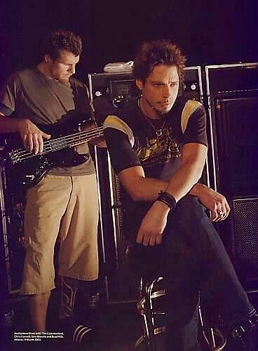 Tim Commerford and Chris Cornell