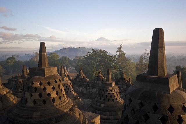 Borobudor by mtbouchard, via Flickr