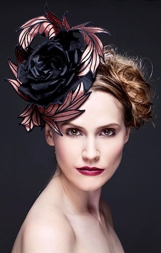 Guibert Millinery, Rock Me Rococo Collection.