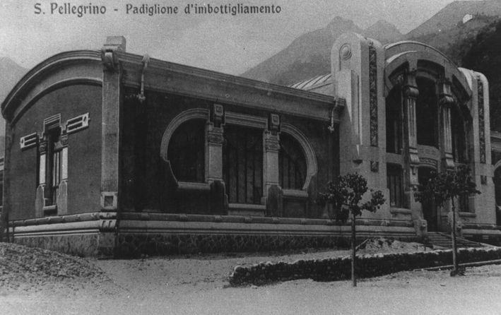 Stabilimento Acqua San Pellegrino - inizi secolo