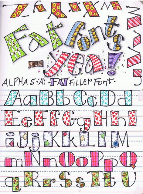 Alphabet  alpha5 - fat | Flickr - Photo Sharing!