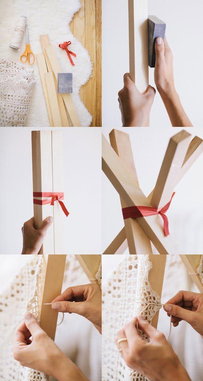 Como hacer una tienda de campaña para los niños en 20 minutos.    En mi blog: http://4.bp.blogspot.com/-6cm3HQ0-YTU/UJypddVn30I/AAAAAAAAOq0/lxtcKA9Fo0c/s1600/teepee-diy-how-to-make-your-own-nursery-decoratualma.png