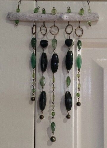 Green wind chime