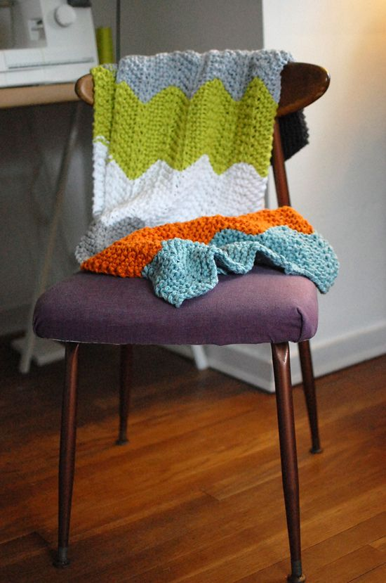Love the colors and the yarn used in this blanket!