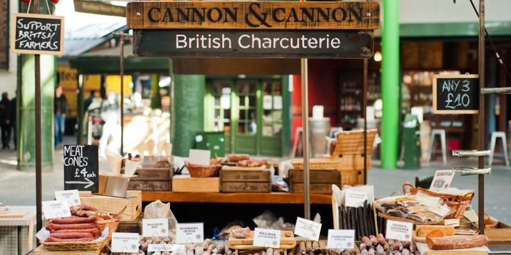 Working on Cannon & Cannon market stall