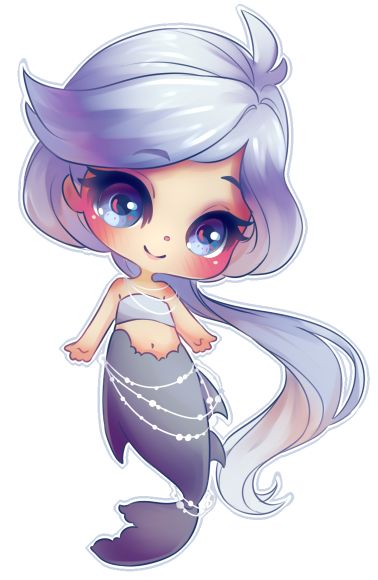 Mermaid Chibi by OwinTer | Chibi | Anime | Mermaid | Character Reference | Femal…