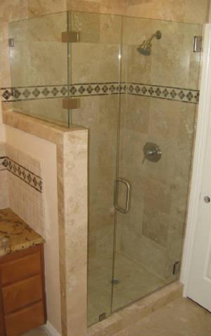 Corner Shower On Pony Wall Martin Jpg Home Pinterest Corner
