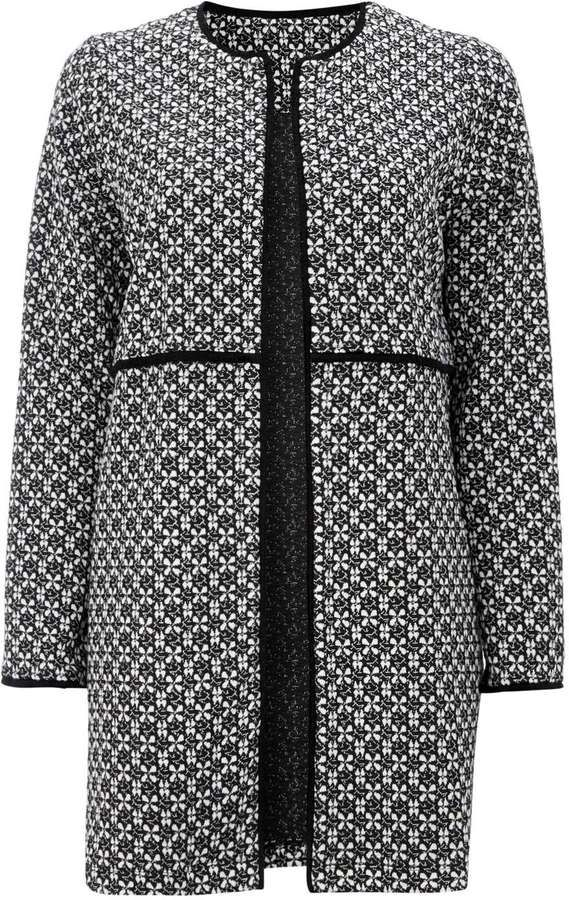 Petite Longline Tweed Jacket