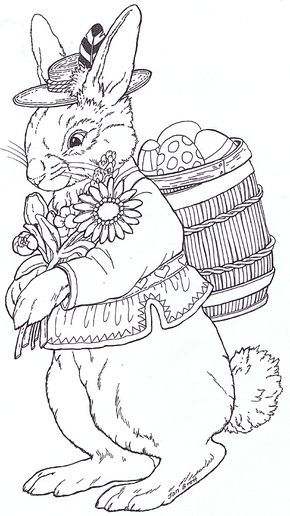 Jan Brett Pascoa Pinterest Desenhos De Pascoa Coelhinho Da