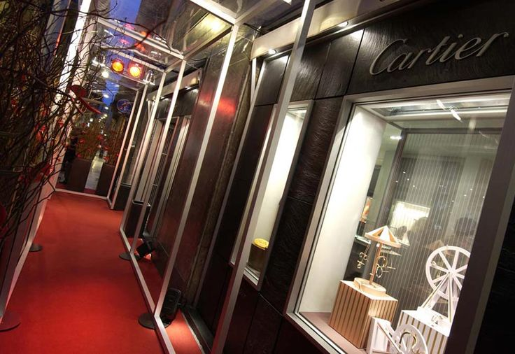 CONCEPT DESIGN: CARTIER | Client CARTIER | Project CARTIER STORE | Location VERONA