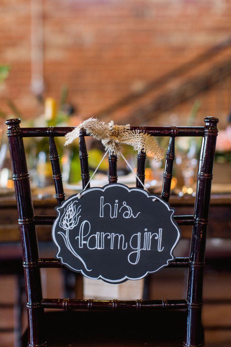 His farm girl. Farm + Factory Southern Styled Shoot from Gather Together | gathertogetherevents.com, Photography by blog.sarahderphotography.com, Read more - http://www.stylemepretty.com/2013/06/19/farm-factory-southern-styled-shoot-from-sarah-der-gather-together/