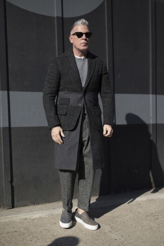 Nick Wooster - New York. Street Style. Via TheImpression.com