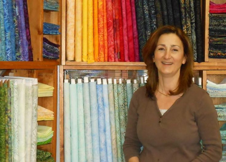 Pleasant Valley Quilting is a great place to find new fabric, take a lesson or just dream!